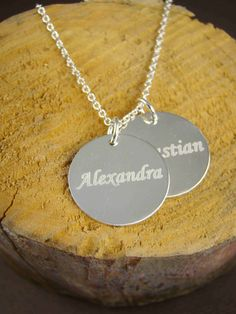 Mom Name Necklace Mommy Jewelry Mother's Gift by ShinyLittleBlessings, $19.00