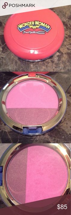 Mac Wonder Woman Collection Blush In Amazon Princess   No box  Authentic. Guaranteed   I might have swatched 1x, but I honestly don't remember, I know it was never used. So definitely a must have for collectors and in pristine condition   Love Mac LE? Click my pic to check out my items for more and other high end beauty brands   Everything Authentic always   Shop with confidence. Top rated seller with glowing reviews   Daily shipping   No trades   Reasonable offers accepted, custom bundle…