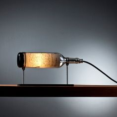 Patriot: Reclaimed Wine Bottle Table Lamp by John Meng on Etsy. $149.00, via Etsy.