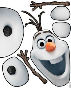 Bulletin board for the winter. Olaf from frozen designed by my coworker and I for the nurses office Cute Kids Crafts, Winter Crafts For Kids, Crafts To Do, Preschool Crafts, Art For Kids, Arts And Crafts, Family Crafts, Kid Crafts, Olaf Birthday