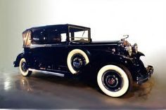 Gangster Cars From the 1930s   1930 Cadillac Kellner Open Front Town Car ~