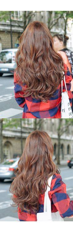 - All For Hair Color Balayage Korean Hairstyles Women, Japanese Hairstyles, Asian Hairstyles, Modern Hairstyles, Permed Hairstyles, Pretty Hairstyles, Korean Hair Color, Korean Wavy Hair, Korean Hairstyle Long