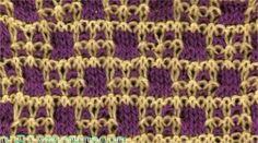 Sanguar Check - Knittingfool Stitch Detail