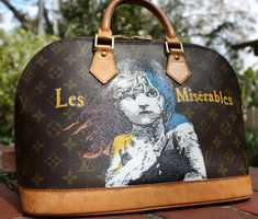 7f1724e1f79c Hand-painted Louis Vuitton Alma