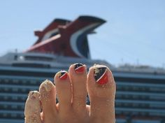 One of our favorite fan photos! She really loves her Carnival cruises. #CarnivalCruises