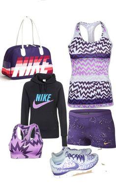 """Purple Nike Love Affair"""