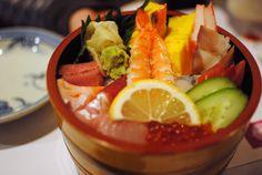 The chirashi at Zen Japanese restaurant in Scarborough
