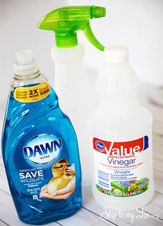 DIY Tub and Shower Cleaner