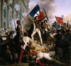 11 Juillet 1789, le roi Louis XVI, agissant sous l'influence de conservateur comme son frère Nobles, comte d'Artois, il a rejeté le ministre Necker et a ordonné la reconstruction du ministère des Finances. Une grande partie de la population de Paris interprété cela comme un auto-coup de la royauté, et sont descendus dans les rues en rébellion ouverte. Une partie de l'armée est restée neutre, mais d'autres ont rejoint les gens.
