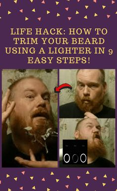 LIFE #HACK: How #To #Trim #Your #Beard #Using #A #Lighter #In #9 #Easy #Steps! Funny Quotes In Hindi, Funny Inspirational Quotes, Funny Quotes About Life, Trimming Your Beard, Funny Memes, Hilarious, World 2020, April 10, Work Memes