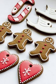 Christmas Gingerbread Ornament Cookies