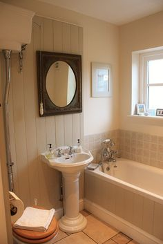 Downstairs #bathroom at Gardeners #Cottage #Blakeney