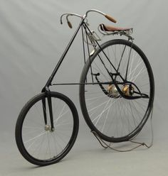 1880 Pneumatic Star bicycle produced by the HG Smith Machine Co, Smithville NJ