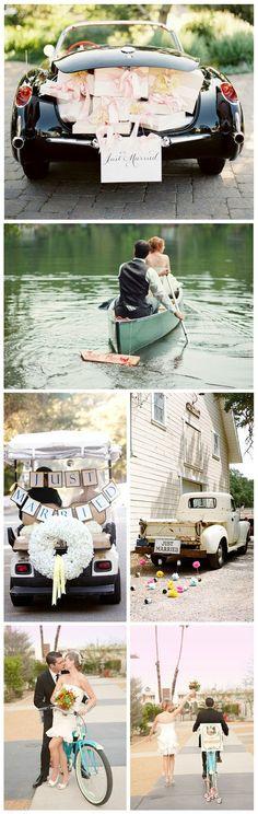 Diferentes maneras de empezar la luna de miel!!!! ♥♥♥ #ideasparabodas #bodas #lunademiel