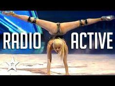 Powerful & Sexy Radioactive Dance audition on Got Talent! Yeva Shiyanova dances to Imagine Dragons Radioactive on Georgia's Got Talent! Got Talent Global bri. Girl Dancing, Pole Dancing, Dragon Dance, Awesome Wow, Aerial Arts, Talent Show, Imagine Dragons, Ballet, Musicals