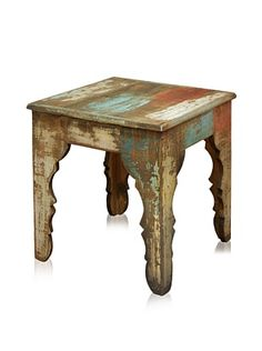 Horizon Bombay Tables Reclaimed Wood Furniture Bombay Iron Base Side Chair Table