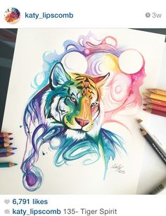 I love @katy_lipscomb's art. I will be getting this as a tattoo at some point.