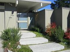 Image result for mid century modern no lawns landscaping