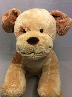 e7a5162d28e Build A Bear Allergy Asthma Friendly Dog Brown Stuffed Animal Plush Velvet  Puppy  AllOccasion Allergy