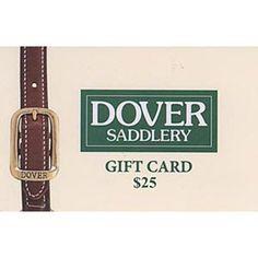 Dover Saddlery Gift Card - for Emma.