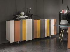 STRIPE Madia laccata Collezione Stripe by Dall'Agnese design PIO