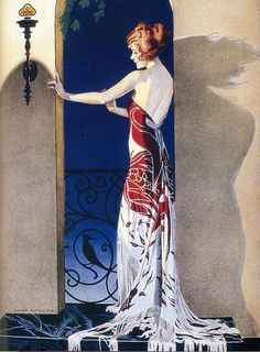 Coles Phillips National Lamp Company advertisement for National Mazda Lamps, 1921 From The Art of Coles Phillips by Michael Schau