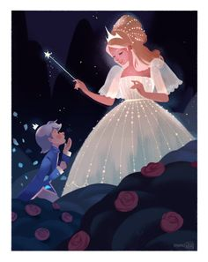 "abbydraws: ""Little Blue Rose """