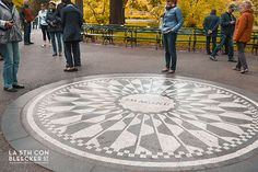 Guia de Central Park strawberry fields imagine
