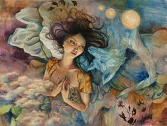 Gorgeous Expressive Paintings by Mandy Tsung - My Modern Metropolis