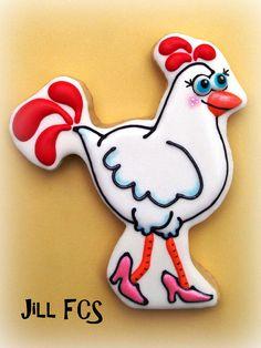 Hot Mama Hen by Jill FCS, via Flickr