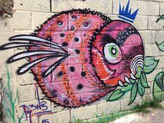 Grafite na favela São Camilo - Jundiaí
