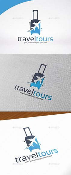 Travel & Tours Logo Template PSD, Vector EPS, AI. Download here: http://graphicriver.net/item/travel-tours-logo-template/14035082?ref=ksioks