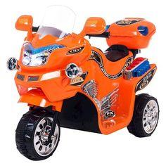 Lil' Rider� FX 3 Wheel Battery Powered Riding Bike - Orange