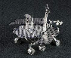 Check out our build review of the Metal Earth ~1/17 Mars Rover (Spirit/Opportunity) kit