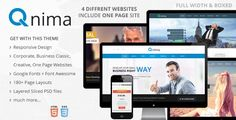 Review Qnima - Responsive MultiPurpose HTML5 TemplateIn our offer link above you will see