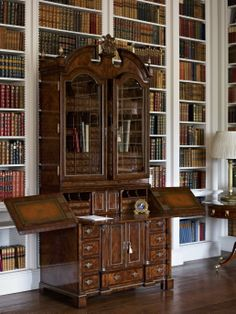 The Althorp Secretary in the Library at Althorp has one hundred drawers, of which twenty six are secret ~ 1740