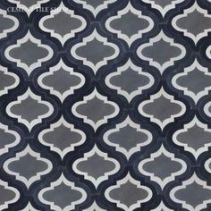 Cement Tile Shop - Handmade Cement Tile   Colonial Frame Charcoal