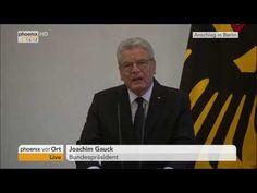 LKW - Anschlag am #Breitscheidplatz in #Berlin :  Statement von Joachim ... Joachim Gauck, Statements, Berlin, Trucks