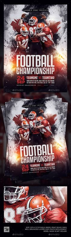 Buy Football Championship Flyer by tarommir on GraphicRiver. Football Championship Flyer Features Easy editable text Organised layers and grouped Print size: inch Bleed area:. Kenyan Coffee, Some Questions, Sports Flyer, Free Fonts Download, Flyer Template, Football, Art Direction, Banners, Forget