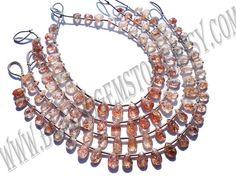 Pear Faceted Beads In Tanzanian Sunstone Beads AA Quality #tanzaniansunstone #tanzaniansunstonebeads #tanzaniansunstonebead #tanzaniansunstonepear #pearbeads #beadwholesaler #semipreciousstone #gemstonebeads #beadsogemstone #beadwork #beadstore #bead