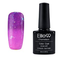 Elite99 Thermal Temperature Change Color Soak Off UV LED Gel Nail Polish 10ML…
