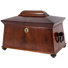 1stdibs.com | William IV Mahogany Tea Caddy, c. 1835