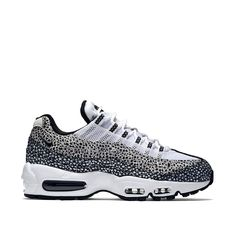 Nike Wmns Air Max 95 Premium Safari Pack (cream white / black) - Free Shipping starts at 75€ - thegoodwillout.com
