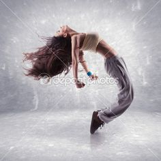jeune danseuse hip-hop — Image #22793342