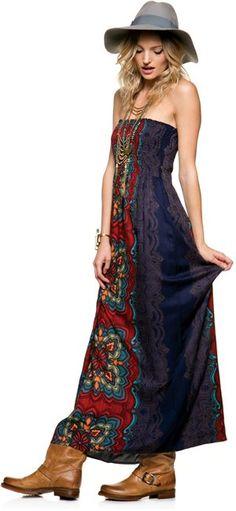 Maxi dress! http://www.swell.com/FIRED-UP-4#