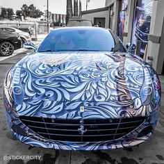 New ferrari california with its custom design - https://www.stickercity.com/latest-projects/new-ferrari-california-with-its-custom-design