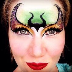 Maleficent face painting - - In this article, you wi. - Maleficent face painting – – In this article, you will see the out- - Disney Face Painting, Girl Face Painting, Face Painting Designs, Painting For Kids, Maleficent, Halloween Make Up, Halloween Face Makeup, Sculpture Ballon, Tattoo Prices