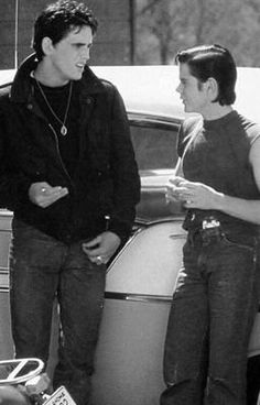 from the story Dallyboy by hxlleecxffey (Hallee Coffey) with reads. Pony had just finished his h. The Outsiders Ponyboy, The Outsiders Cast, The Outsiders Imagines, Iconic Movies, 80s Movies, Greaser Movies, Greaser Guys, Young Matt Dillon, Dallas Winston