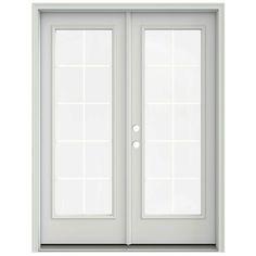 jeld wen 60 in x 80 in primed prehung right hand inswing - 60 Sliding Patio Door