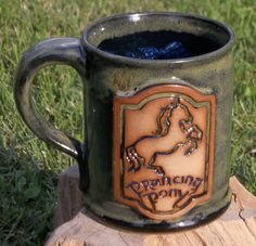 Prancing Pony mug; Lord of the Rings, The Hobbit